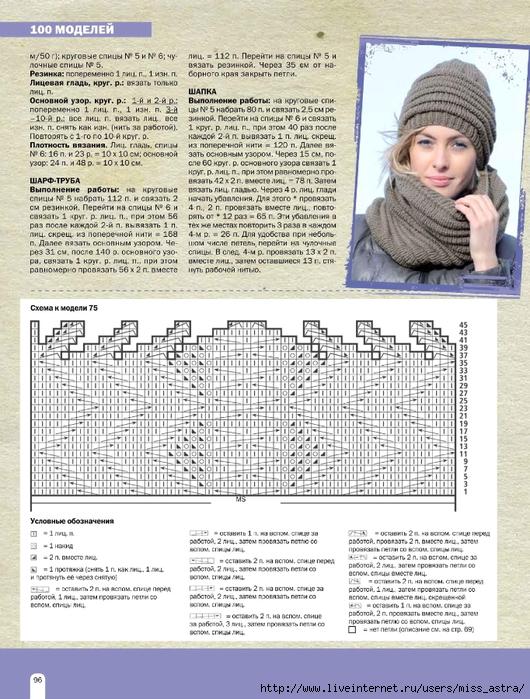 Комплект шапка и шарф, шапка и шарф женский, комплекты 93