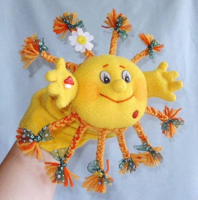 Солнышко сделанное своими руками