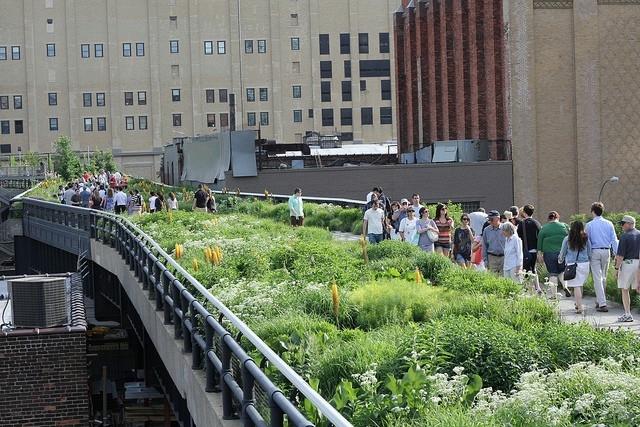 городской парк хай-лайн на манхэттене 4 (640x427, 246Kb)