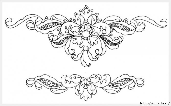 Декорирование и точечная роспись - имитация кружева (11) (700x433, 168Kb)