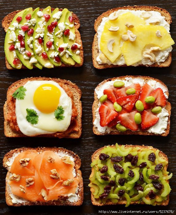 964 Breakfast toast (1) (573x700, 296Kb)