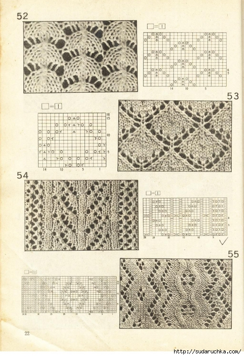 Knitting Stitches/ Patterns on Pinterest Lace Knitting Stitches, Picasa and...