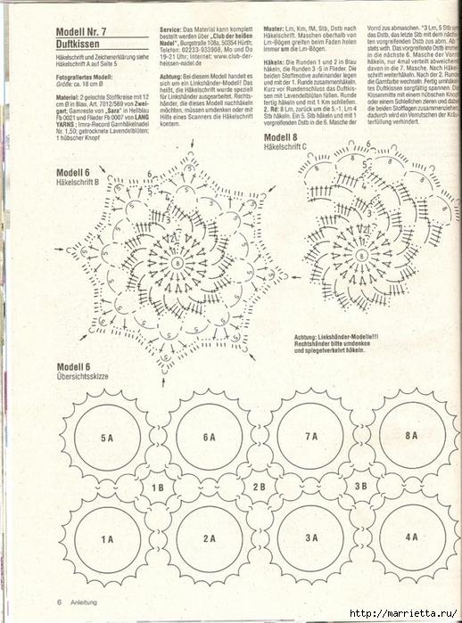Вязание крючком. Скатерти, салфетки и шторки (19) (518x700, 308Kb)