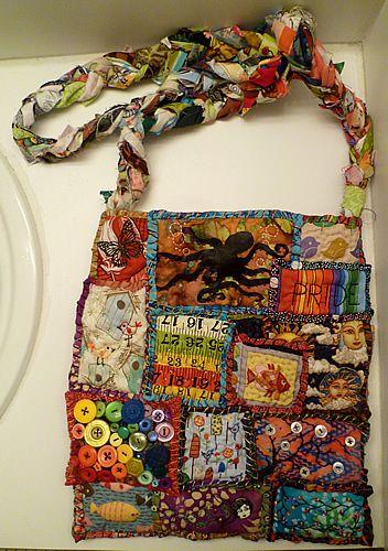 Бохо стиль своими руками сумки