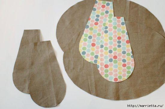 Детская подушечка из лоскутков - СОБАЧКА (3) (550x365, 76Kb)