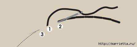 Детская подушечка из лоскутков - СОБАЧКА (7) (446x154, 14Kb)