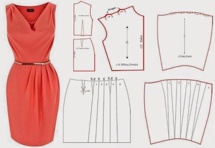 Как сшить вечерние платье своими руками для
