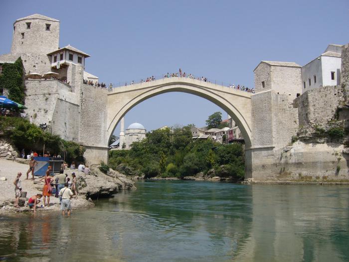 город мостар старый мост фото 3 (700x525, 512Kb)