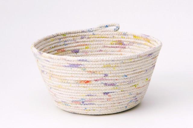 Чашки и другие емкости из веревки. МК