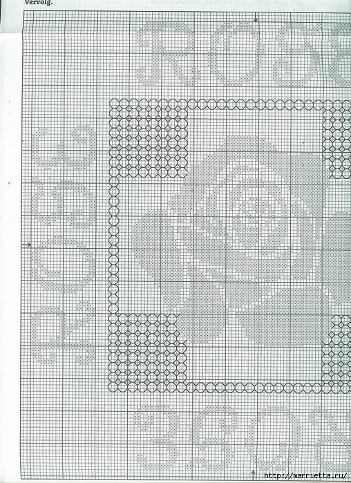 Вышивка роз на подушках (3) (508x699, 384Kb)