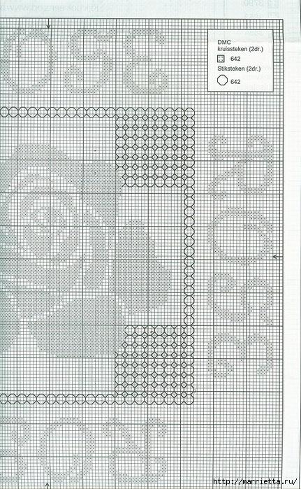 Вышивка роз на подушках (4) (431x699, 320Kb)