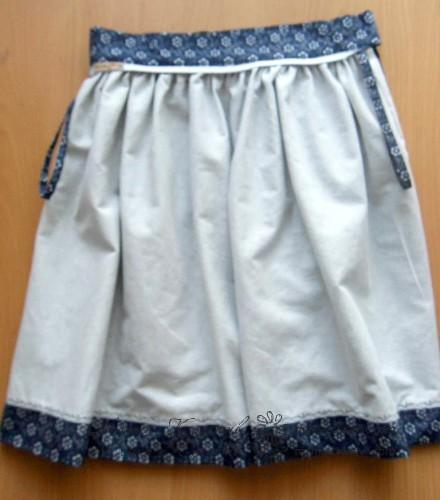 Сшить юбку татьянку на поясе своими руками