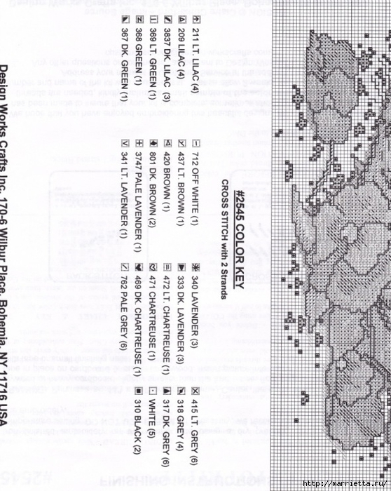 Схемы вышивки - котенок в кружке и в горшочке (5) (558x700, 284Kb)