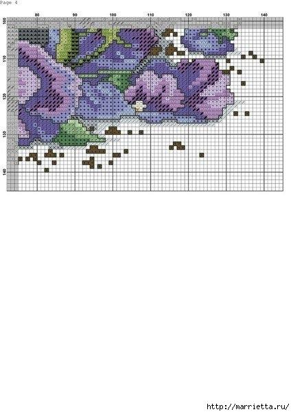 Схемы вышивки - котенок в кружке и в горшочке (11) (427x604, 112Kb)
