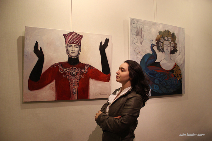 Творчество молодого художника Юлии Смоленковой (3) (700x466, 348Kb)