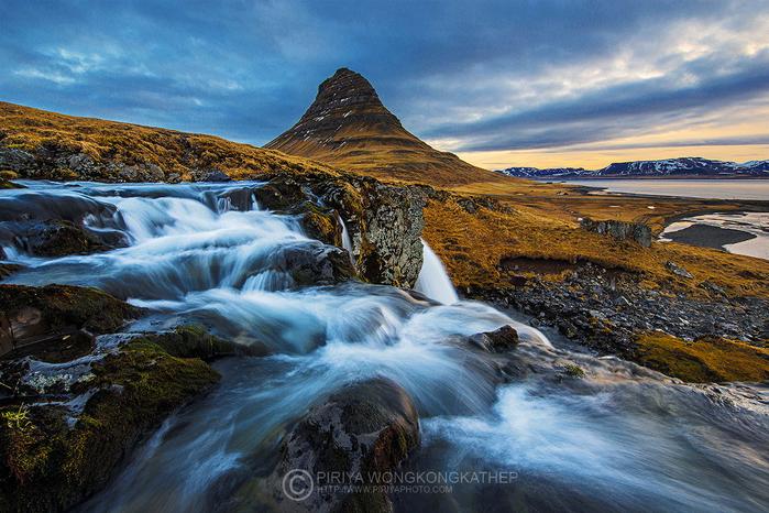 гора Киркьюфелл исландия фото 2 (700x466, 512Kb)
