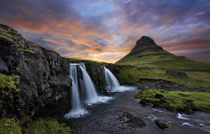 гора Киркьюфелл исландия фото 4 (700x448, 419Kb)