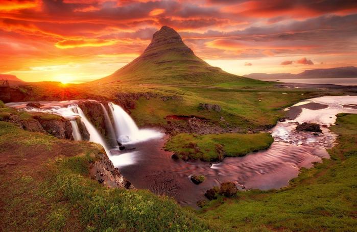 гора Киркьюфелл исландия фото 11 (700x455, 419Kb)