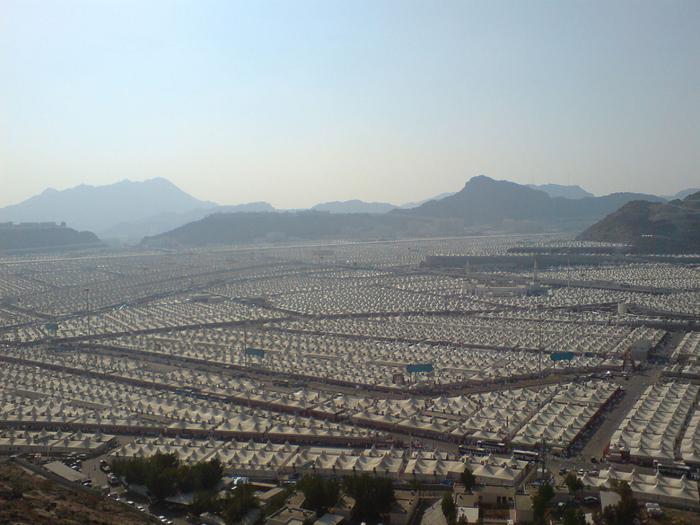 палаточный город мина саудовская аравия 2 (700x525, 425Kb)