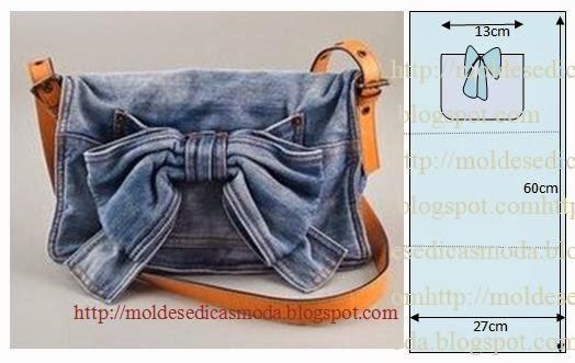 Как сшить сумочку из старых джинсов своими руками выкройки фото