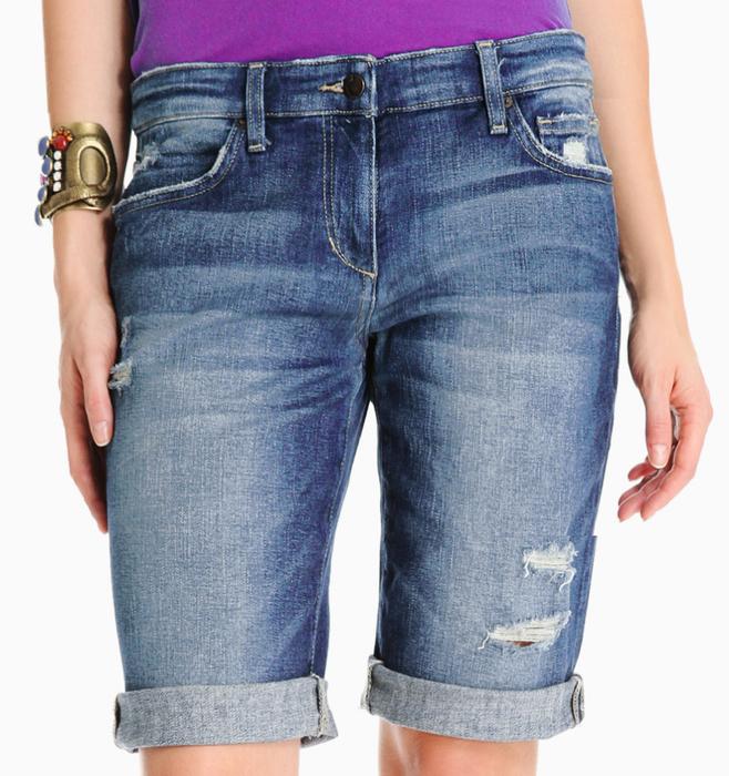 Шорты джинсовые женские из джинсов своими руками 88