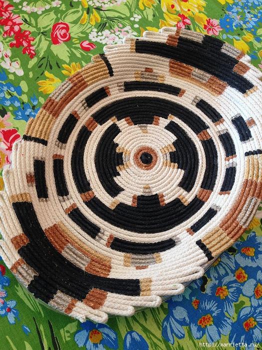 Вазочка из веревки для интерьера в этническом стиле (1) (525x700, 457Kb)