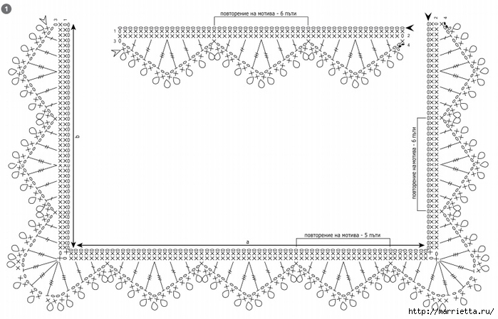 Джинсовый клатч с кружевом крючком (3) (700x449, 182Kb)