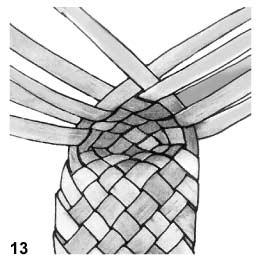 Плетем лапти из газетных трубочек (1) (261x260, 37Kb)