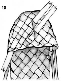 Плетем лапти из газетных трубочек (3) (246x319, 46Kb)