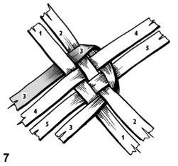 Плетем лапти из газетных трубочек (5) (251x235, 32Kb)