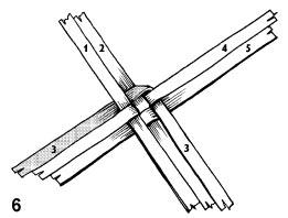 Плетем лапти из газетных трубочек (7) (261x198, 25Kb)