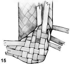 Плетем лапти из газетных трубочек (11) (245x224, 27Kb)