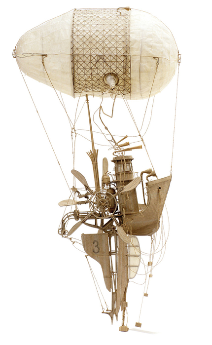 стим-панк скульптуры The Principles of Aerodynamics 1 (430x700, 211Kb)