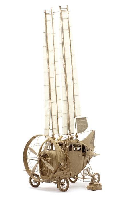 стим-панк скульптуры The Principles of Aerodynamics 5 (430x700, 158Kb)