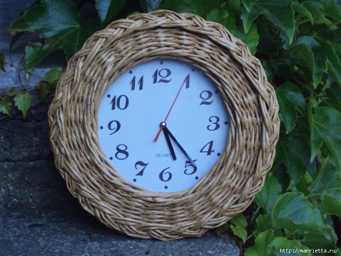 плетение-часы из газетных трубочек (17) (700x525, 360Kb)