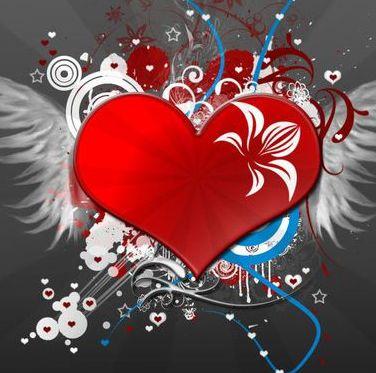 Красивые на аву сердечки