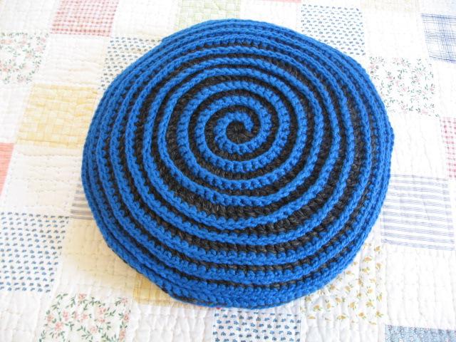 Вязание крючком чехлы для пуфиков