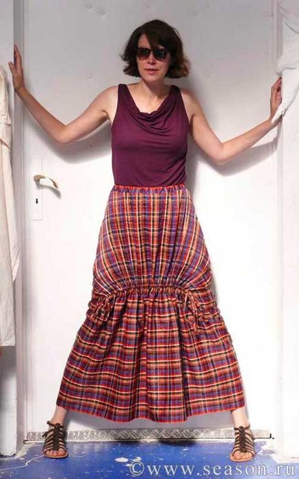 Шьём юбку мастер класс + видео #13