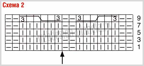 korichnevyj-pulover-spitsami-s-kosami-i-sumka-opisanie-shema-2 (600x275, 41Kb)