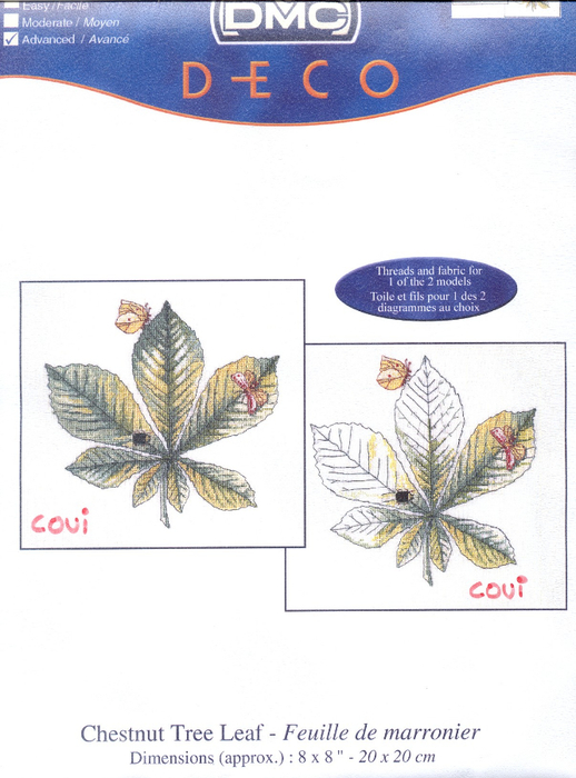 DMC XC1077 Hoja de castaño (518x700, 291Kb)
