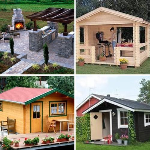 Построить летнюю кухню на участке своими руками