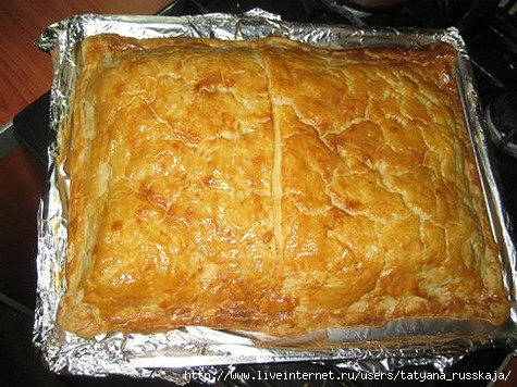 Пирог из карпа рецепт с пошагово