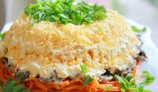 Очень вкусный салат с корейской морковкой (602x351, 42Kb)