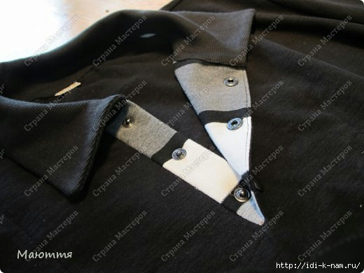 как сшить потайную застежку поло, как сшить потайную застежку на футболке рубашке, как сделать застежку поло,