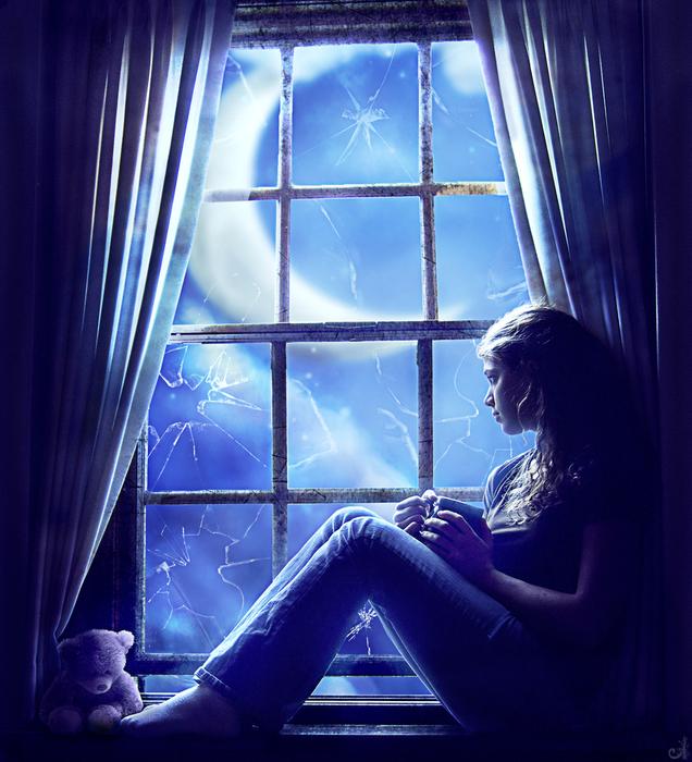 сцена у окна (636x700, 458Kb)