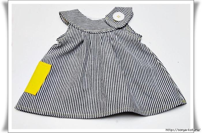 Платье на малышку сшить самой
