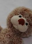 как связать мишку, схема вязания мишки, как связать мишку тедди,  Хьюго Пьюго рукоделие, http://idi-k-nam.ru/,