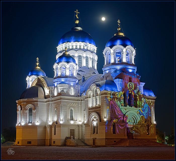 Храм Донских Казаков веч (700x640, 207Kb)