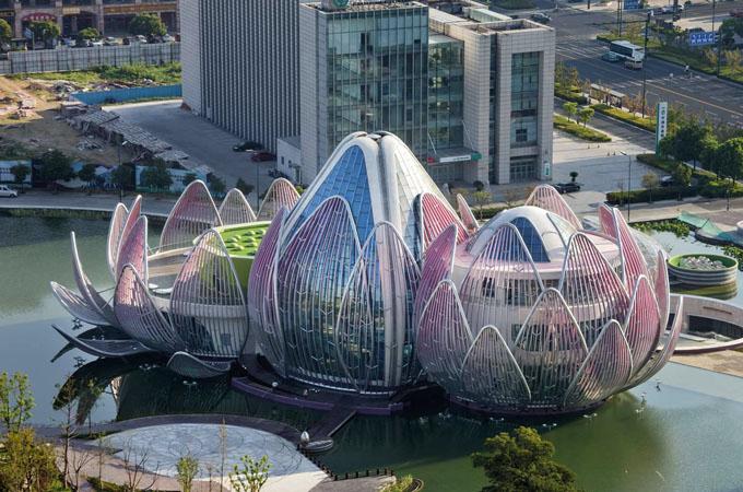 выставочный центр лотос в китае 1 (680x450, 327Kb)