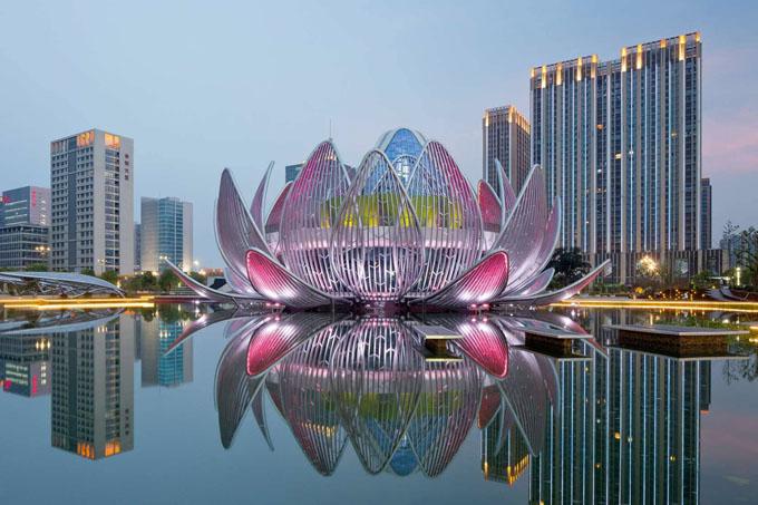 выставочный центр лотос в китае 3 (680x453, 267Kb)